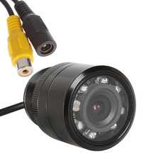 28,5 мм Автомобильная задняя камера HD цветная камера заднего вида 8 светодиодный ночного видения 170 градусов IP67 Водонепроницаемый CCD изображение