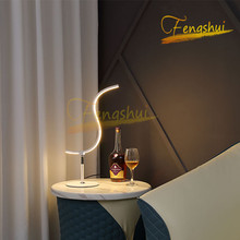 Nordic LED Table Lamp Lighting Fixtures Modern Special-shaped Table Light Tri-color Light Source Lamps Attic Indoor Desk Lamps