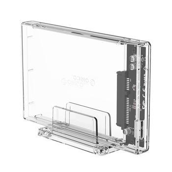 ORICO 2159U3 Transparent HDD Case USB 3.0 Micro B to 2.5 SATA 3.0 4TB 5Gbps Hard Disk SSD External Enclosure for Windows Mac