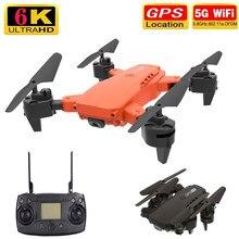 Mandlin-Dron K68 profesional de doble lente, 4K, HD, gran angular, 5G, GPS, 6K, WiFi, FPV, 2021 M, Control remoto, helicóptero de juguete, novedad de 1500