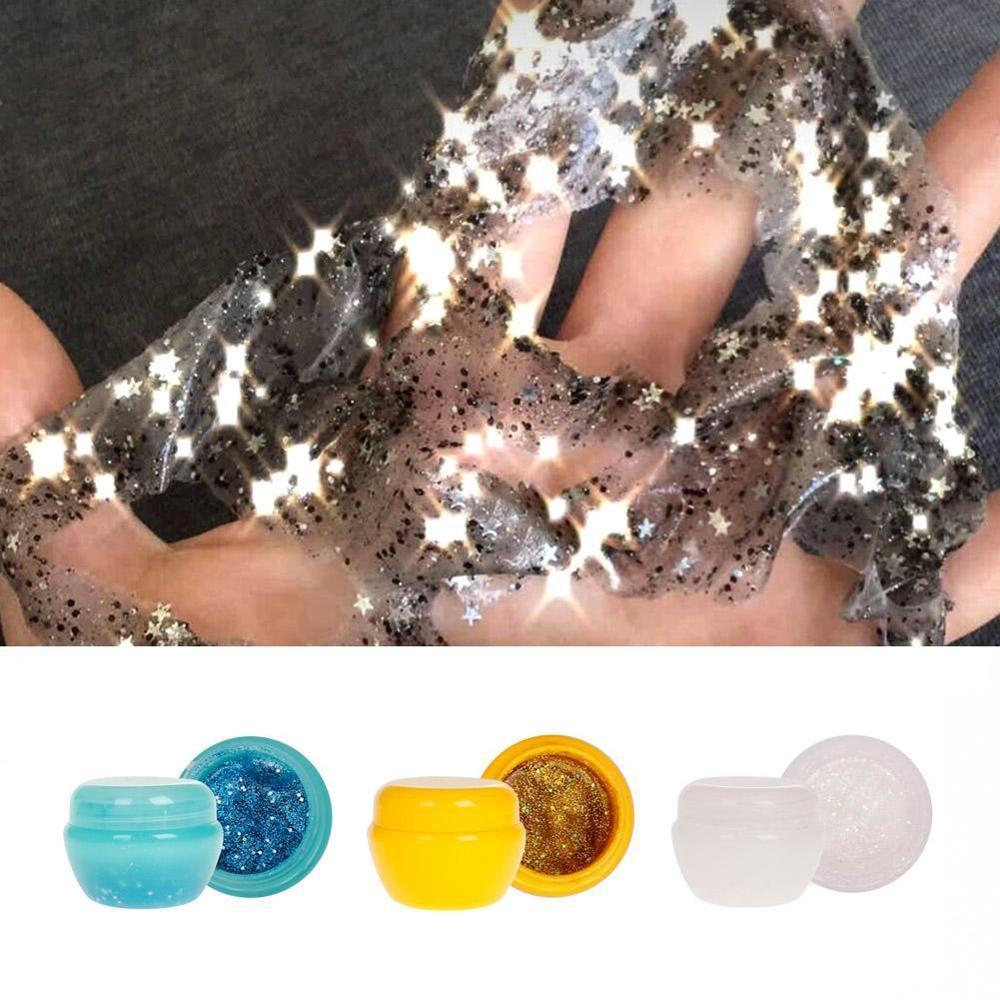 1pc New Glitter Glow Star Sequin Black Face Mask Peel Off Moisturize Skin Health Face Whitening Mask