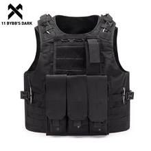11 BYBB – gilets de Sport avec sac de taille pour hommes, gilets tactiques multifonctions, respirants, poche utilitaire, Streetwear