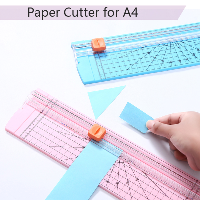 ABS Portable Precision Paper Cutter Cutting Mats For A4 Paper Paper Photo Trimmers Cut Machine Scrapbooking For Office School