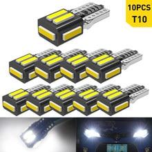10X Canbus T10 W5W LED de distancia de seguridad para coche luz de estacionamiento para Geely Emgrand EC7 X7 MK 7 Citroen C1 C3 C5 X7 C4 Picasso luces LED 12V