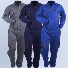 Uniforme de trabajo para hombres y mujeres, traje de soldadura para reparación de automóviles, taller mecánico, ropa de trabajo de talla grande, S-5X