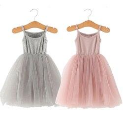 Детские платья для девочек, вечерние платья для девочек на свадьбу и лето 2020, 24 мес.-6 лет, розовые Детские платья для девочек, платье принцесс...