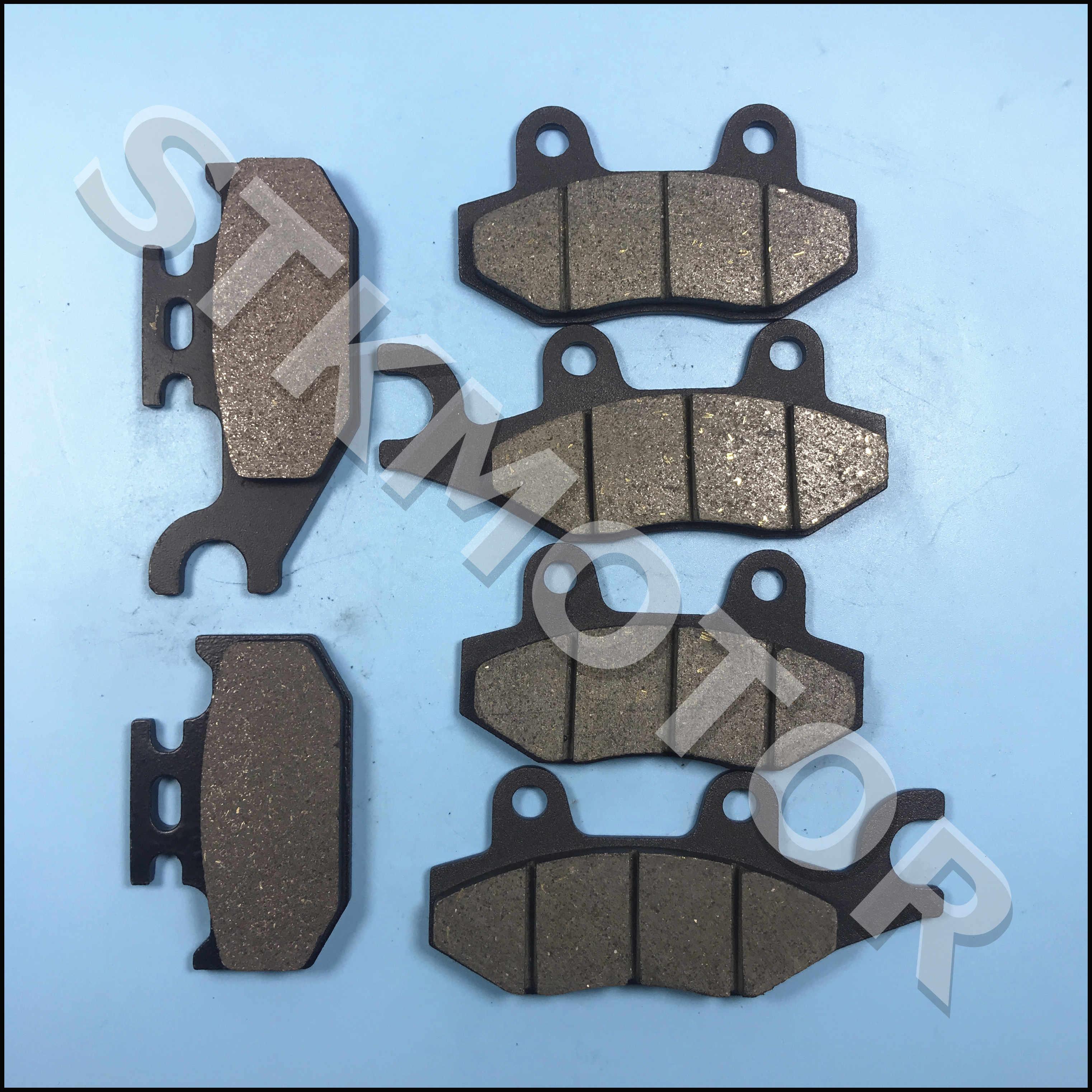 AHL Semi-metallic Front Brake Pads Set for Yamaha YFM660 Grizzly//Hunter Edition 2002-2008