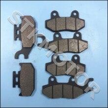 Plaquettes de freins semi métalliques, Kit 2004 2012, pour Yamaha Raptor 700 Rhino 450 Rhino 660 1S3 W0045 10 00