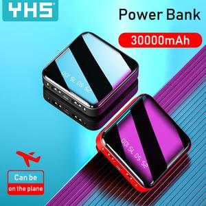 Image 5 - Mi Ni 30000mAh Power Bank สำหรับ iPhone 8 XS Xiao Mi Mi Powerbank Pover ธนาคาร Charger 2 พอร์ต USB ภายนอกแบตเตอรี่ Poverbank แบบพกพา