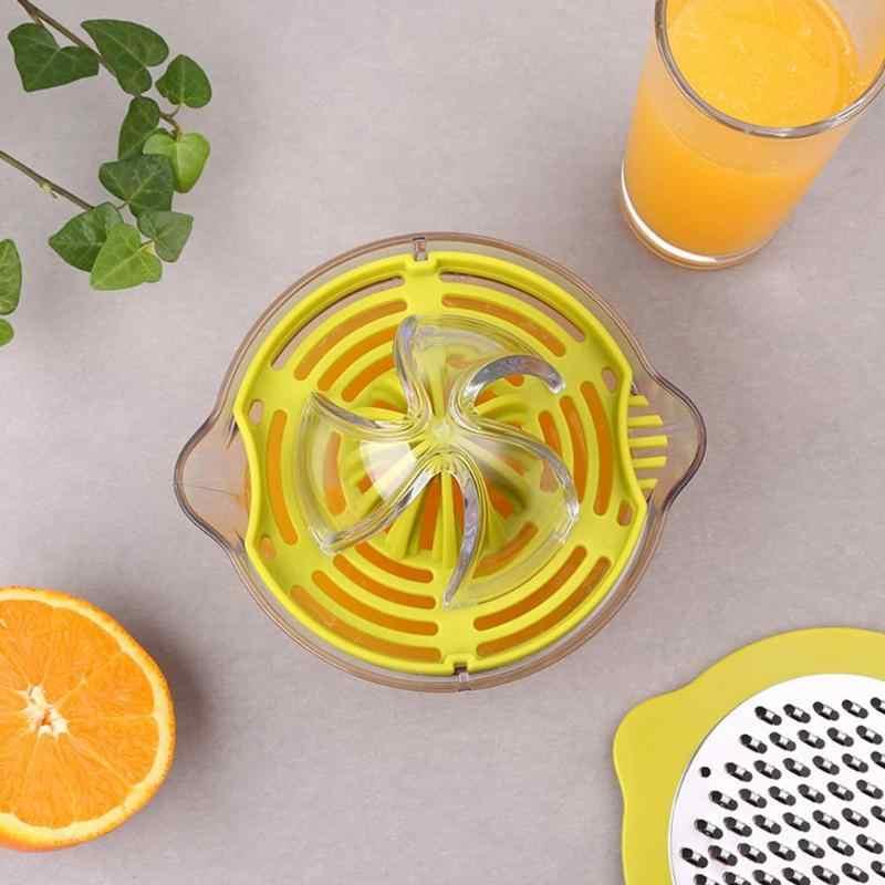 Limão espremedor de Frutas Espremedor Manual de Espremedor de Limão Eco Friendly PP/PC/420 de Aço Inoxidável Mini Suco De Comida para Bebé ferramenta complementar