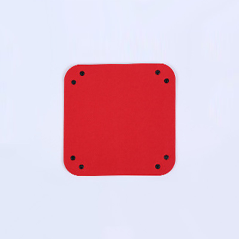 Складная коробка для хранения из искусственной кожи, квадратный поднос для настольной игры в кости, кошелек для ключей, коробка для монет, поднос, настольная коробка для хранения, лотки, Декор - Цвет: B-6