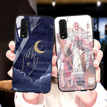 Ponsel Case untuk OPPO A91 A31 A9 A5 2020 Case Tempered Kaca Penutup Fundafor OPPO A83 A79 A77 A7 A59 a3S A37 A33 A1k A3 Case Cover(China)