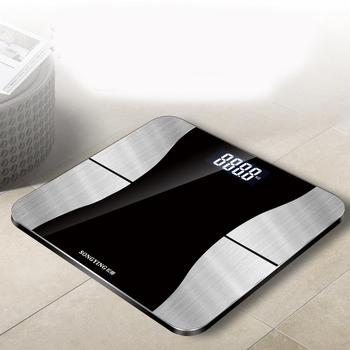 Báscula de pesaje para el hogar Sakura suelta, báscula de carga USB, báscula de grasa corporal saludable, báscula electrónica personalizable