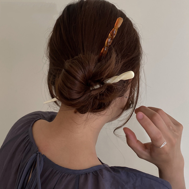 barrette cheveux Plate acetic acid hairpin style decoration girl spinki do wlosow dla dziewczynki gumki do wlosow dla dzieci