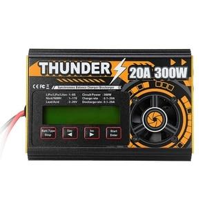 Image 1 - Hota Thunder 300W 20A 250W 10A Dc Balans Lader Ontlader Voor Lipo Nicd Pb Batterij