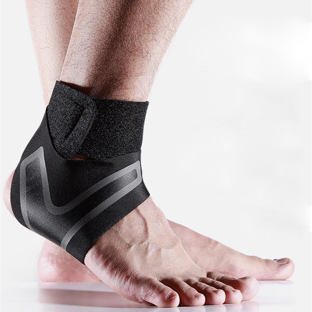Compression Ankle Protectors Anti Sprain Outdoor Basketball Football Ankle Brace Supports Straps Bandage Wrap Foot Sport Safety