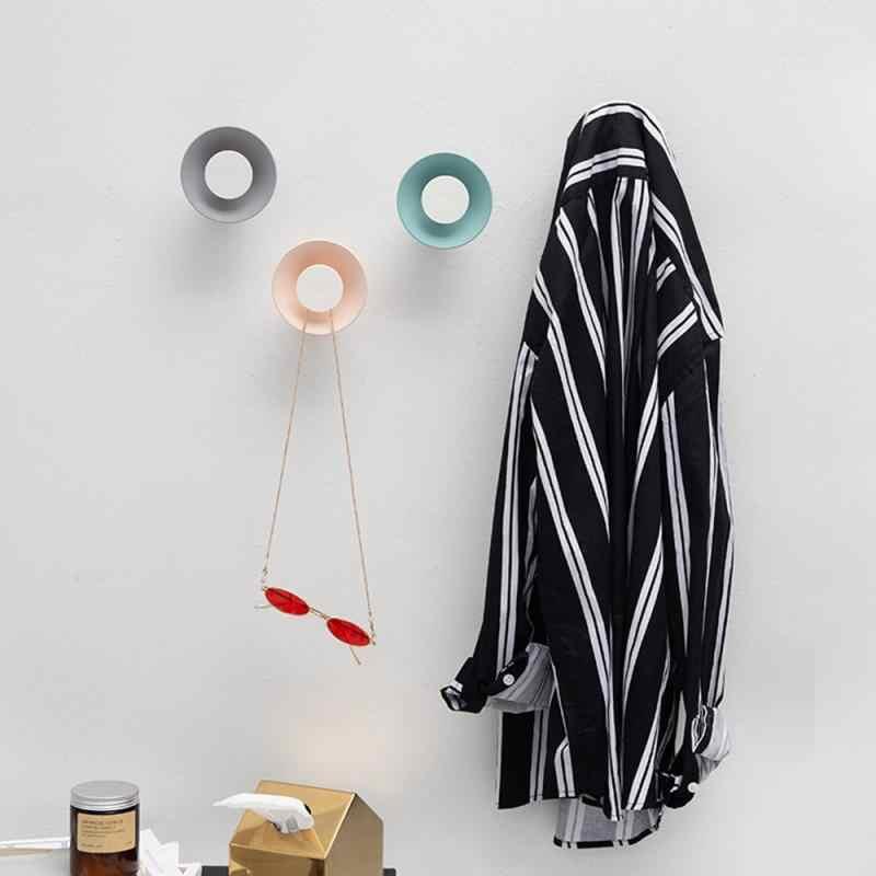 Sveglio creativo Gancio di Viscosa tipo di Decorazione Domestica Gancio Cappotto Porta Gancio Gancio Appiccicoso altoparlante a forma di gancio di Gancio Inverno Maglione Cremagliera