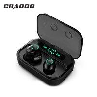 CBAOOO M7 TWS Bluetooth 5.0 écouteur stéréo sans fil Earbus MINI HIFI son Sport écouteurs mains libres jeu casque avec micro