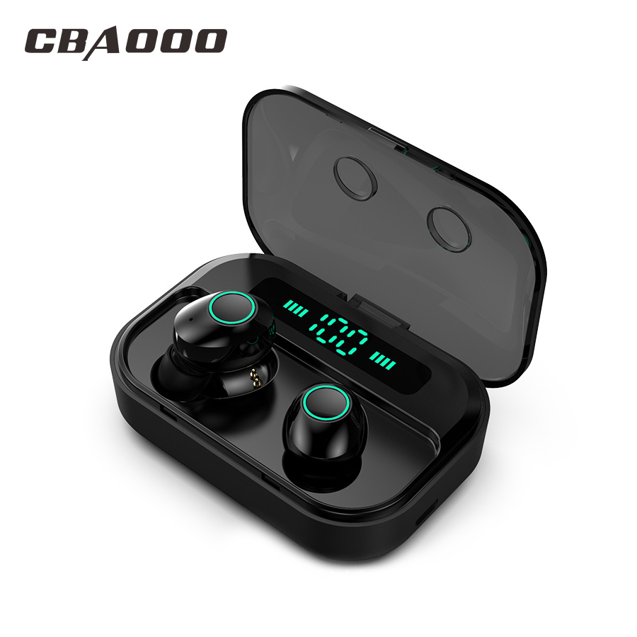 CBAOOO M7 TWS Bluetooth 5.0 Earphone Stereo Wireless Earbus MINI HIFI Sound Sport Earphones Handsfree Gaming Headset With Mic