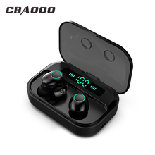 CBAOOO M7 TWS Bluetooth 5.0 Earphone Stereo Wireless Earbus MINI HIFI Sound Sport Earphones Handsfree Gaming Headset with Mic