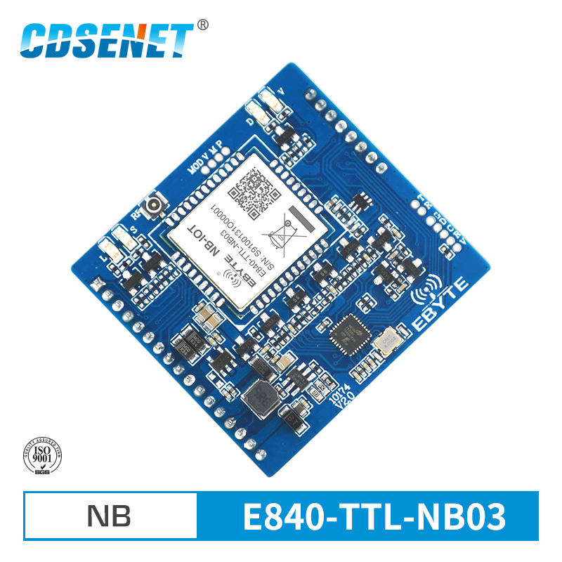 E840-TTL-NB03 Serial Port NB-IoT TCP UDP Protocal B8 Frequency IPEX Interface M2M Wireless Transceiver Module
