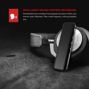 Image 5 - Vandlion דיגיטלי הופעל קול מקליט Hotkey קול אודיו הקלטה כפול מיקרופונים רעש הפחתת מנעול 3D קצה מסך