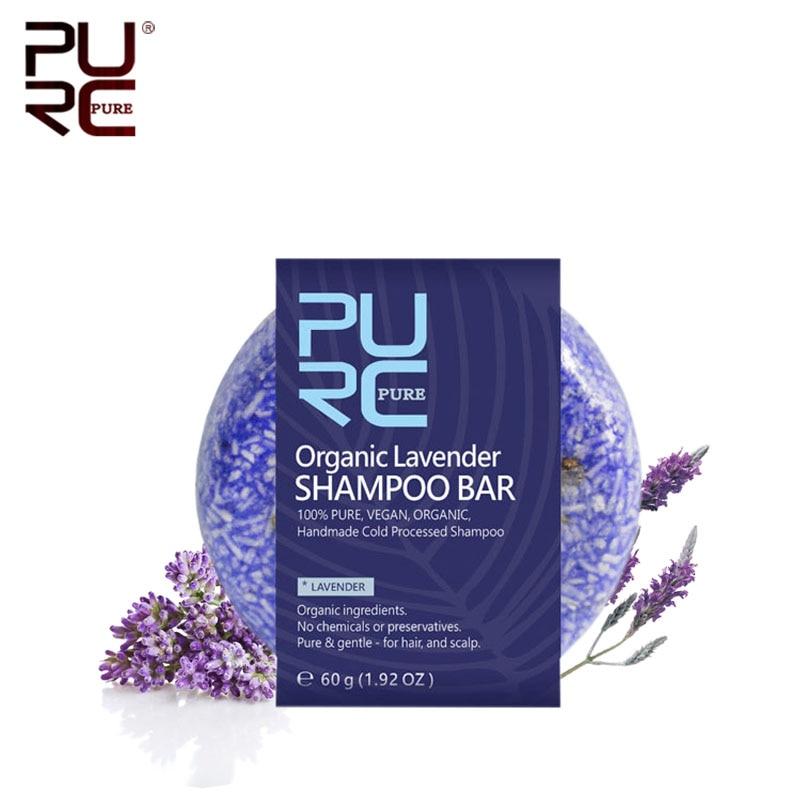 purc organico artesanal lavanda shampoo barra de 01