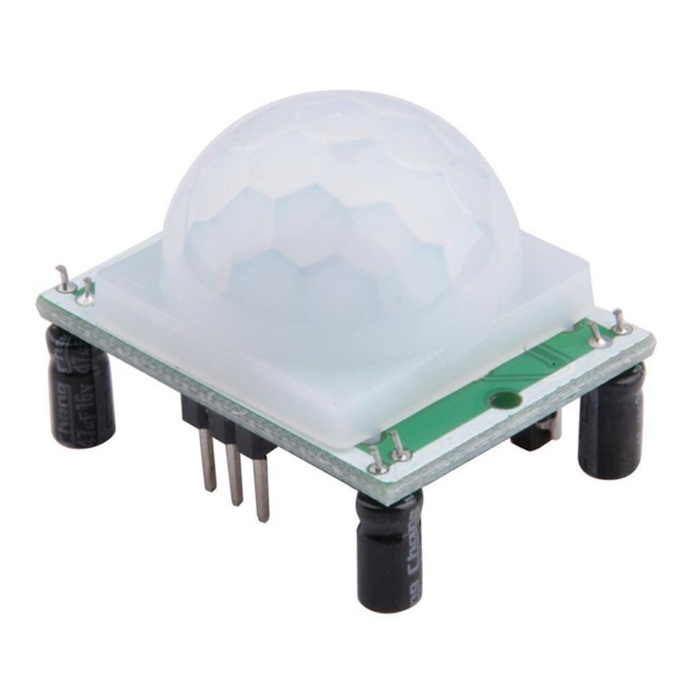 Módulo Sensor infrarrojo Hc-Sr501 Módulo Sensor infrarrojo Cuerpo Humano módulo piroeléctrico Sensor infrarrojo