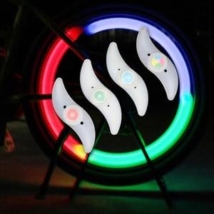 4 pcs Bike Light Wheel Spokes