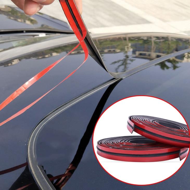 Резиновая уплотнительная лента на крышу автомобиля 14/19 мм для Kia Hyundai Genesis G70 G80 G90 Equus Creta KONA Enduro Intrado NEXO