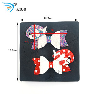 Image 2 - Christmas bow DIY new wooden mould cutting dies for scrapbooking Thickness 15.8mm/muyu S2038