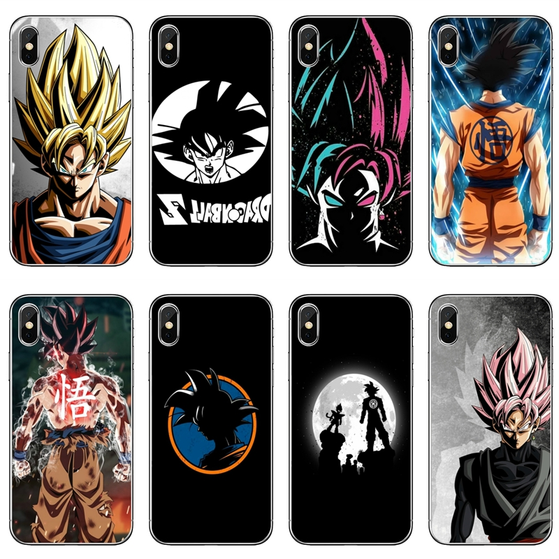 DragonBall z goku 5 Phone case for Iphone Samsung Galaxy S10