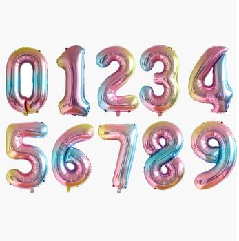 40 Cal wielka tęcza folia balony urodzinowe balon w kształcie cyfry 0-9 wszystkiego najlepszego z okazji urodzin dekoracje weselne dekoracje na boże narodzenie tanie i dobre opinie CN (pochodzenie) Numer FOLIA ALUMINIOWA Ślub i Zaręczyny Chrzest chrzciny Na Dzień świętego Patryka Wielkie wydarzenie