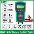 DUOYI DY2015 12V автомобиль Мотоциклетные батареи Системы Тесты er анализатор CCA Ёмкость электронная нагрузка заряда батареи тест на проворот коле...