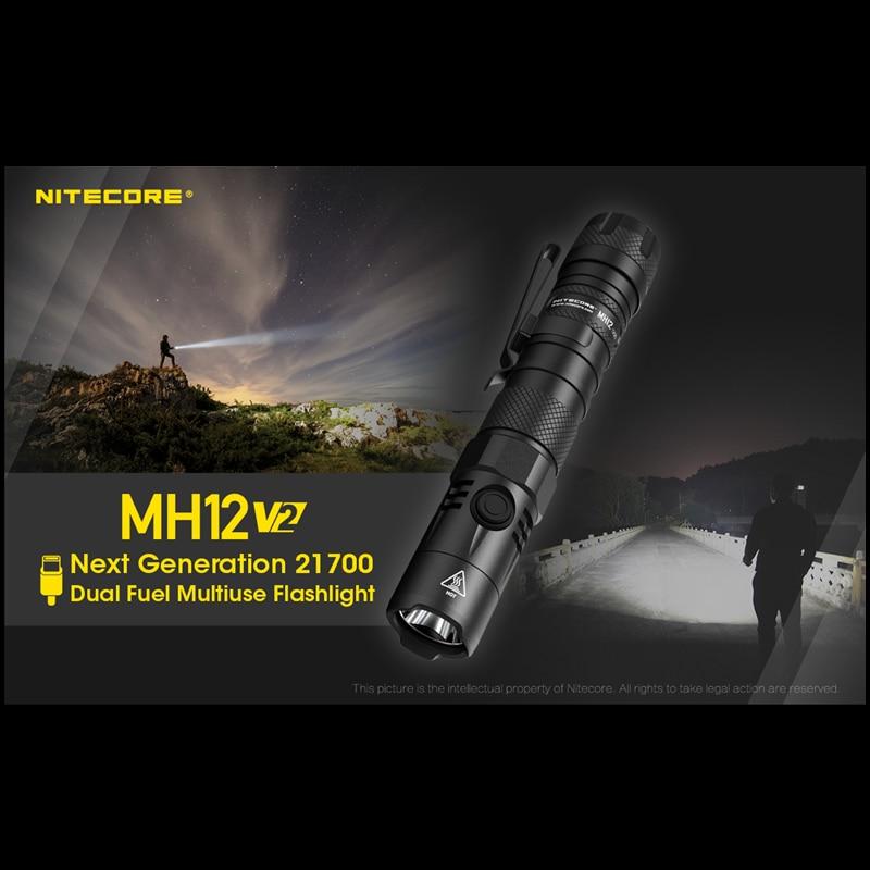 nitecore mh12v2 lanterna tatica recarregavel 1200 lumens 01