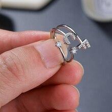 Классическое кольцо с первой буквой для девушек и мужчин, простое и благородное Европейское и американское индивидуальное очаровательное кольцо с инициалами, подарок на день рождения