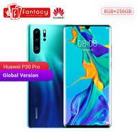 Globale Versione Huawei P30 Pro 8GB 256GB Smartphone 5x Zoom Ottico Quad Telecamere 6.47 ''Completo di Schermo OLED kirin 980 NFC 4200mAh