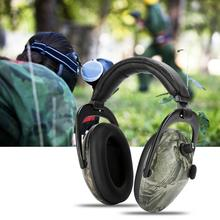 전자 전술 촬영 귀 보호 귀마개 소음 방지 귀 보호기 NRR 28db 청력 보호기 헤드폰 방음 뜨거운