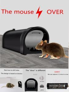 Catcher Bait Mice Mousetrap Pest-Control Rat-Killer Snap-Spring Rodent Plastic Reusable