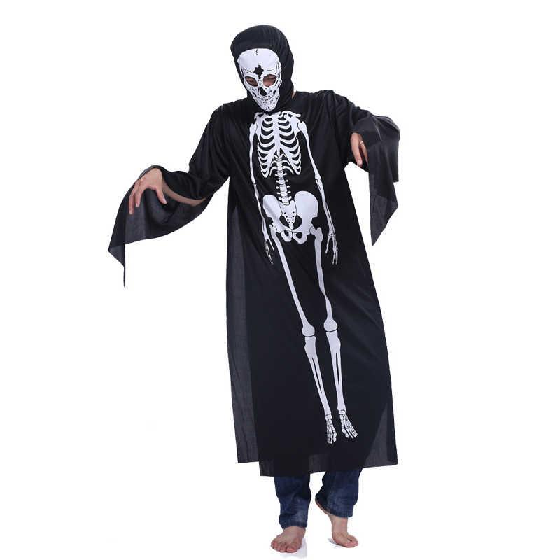 Kostiumy na Halloween dla dzieci Horror zombie chłopiec dziewczyna szkielet sukienka się Fantasy clipartów kombinezon dla dzieci Onesie potwór kostium