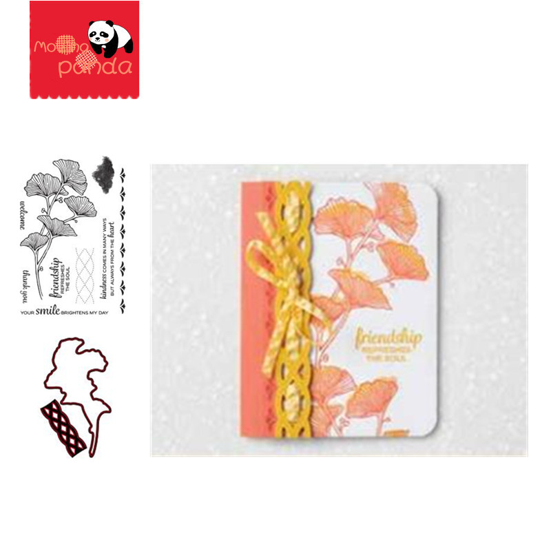 MP065 butterfly flower Metal Cutting Dies and Stamps Stencils