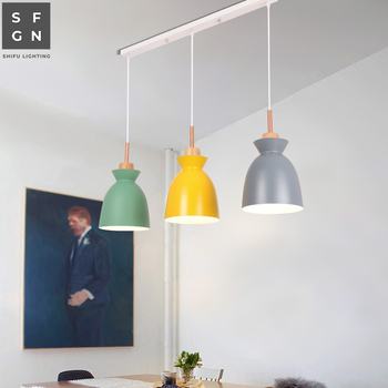modern led chandelier lighting chandeliers ceiling lights Nordic American style iron light fixtures for dining room bedside home