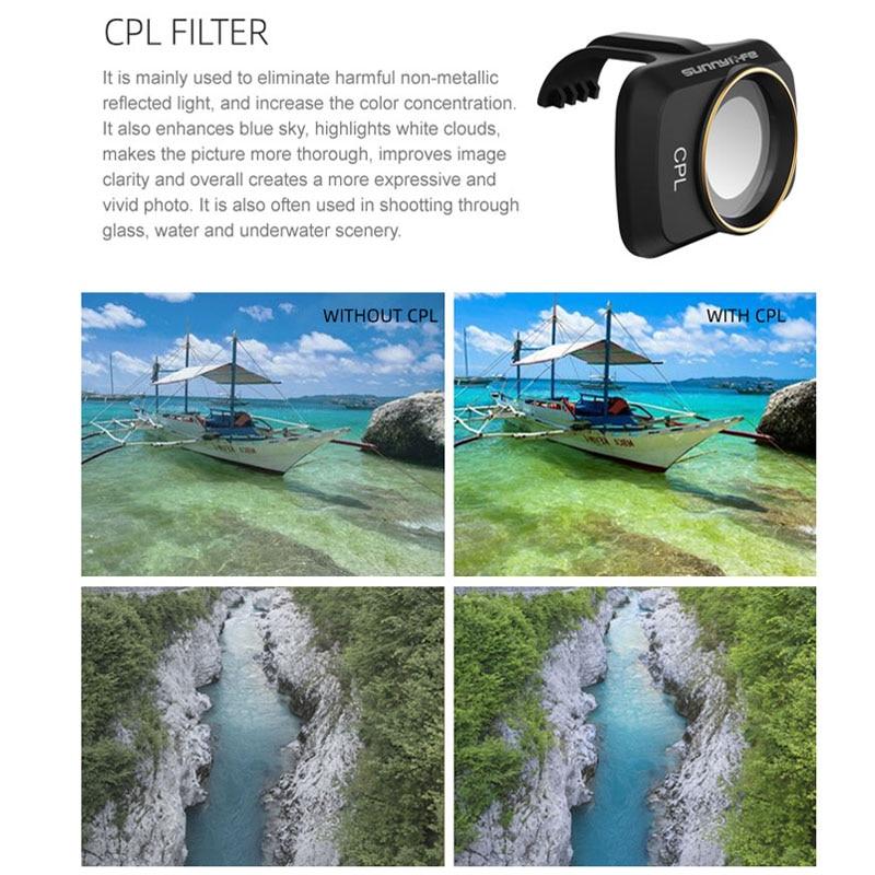 Dji Mavic Mini 2 Camera Lens Filter Mcuv ND4 ND8 ND16 ND32 Cpl Nd/Pl Filters Kit Voor Dji mavic Mini Drone Accessoires 6