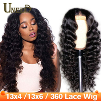 13x4/13x6 Lace Front Human Hair Wigs Peruvian Loose Deep Wave Remy Hair 360 Lace Frontal Wigs Natural Hairline with Baby Hair