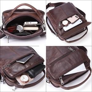 Image 5 - MISFITS Mens Messenger กระเป๋าแฟชั่นซิปหนังไหล่กระเป๋า Casual กระเป๋าถือผู้ชายใหม่