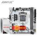 Материнская плата JGINYUE H97 LGA 1150 для i3 i5 i7 Xeon E3 процессор DDR3 16G 1333/1600 МГц память wifi M.2 NVME Mini-ITX