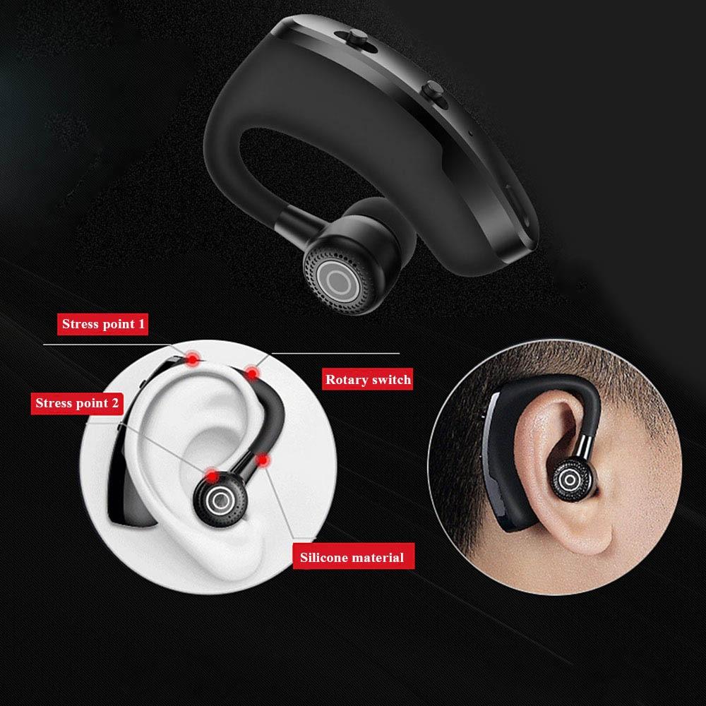 V9 earphones Bluetooth headphones Handsfree wireless headset Business headset Drive Call Sports earphones for iphone Samsung 6