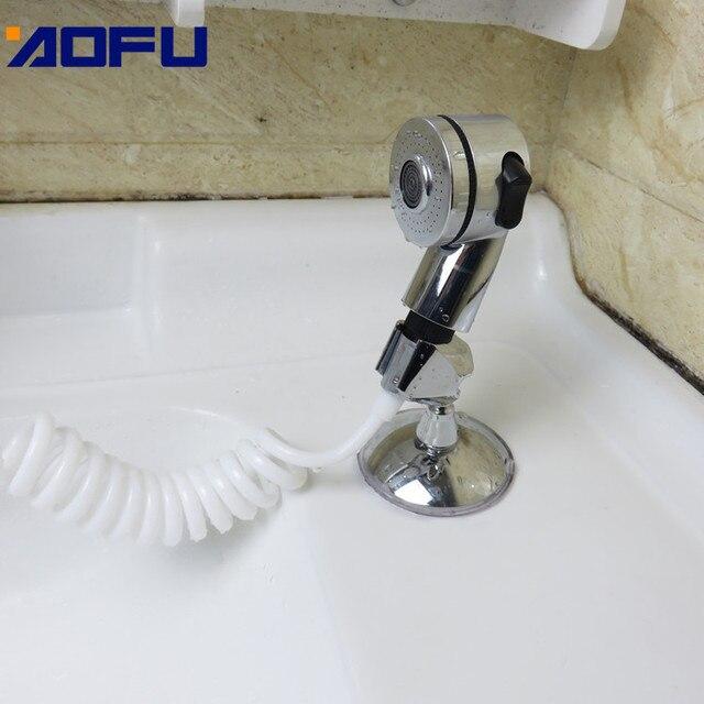 Купить душевая насадка для смесителя ванная комната спрей сливы шланг картинки цена
