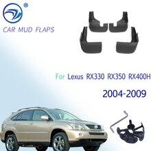 Voor Achter Auto Spatlappen Voor Lexus RX330 RX350 RX400H 2004 2009 Spatlappen Spatborden Splash Guard Voor Fender Accessoires