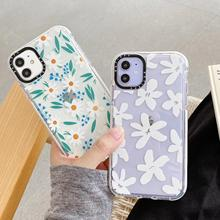 Daisy Flower Shockproof Bumper Phone Case For iphon